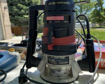 Craftsman corded router