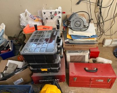 Tools Knives Books Freehold Full Content Estate Sale by Attic to the Basement