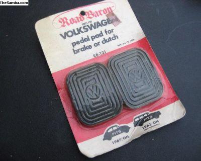 NOS VW pedal pad brake clutch