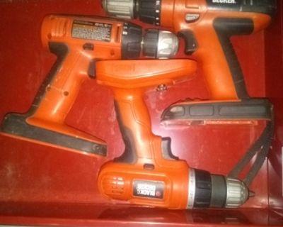 black and decker drills