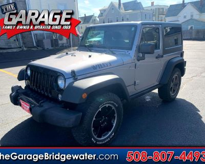 Used 2015 Jeep Wrangler 4WD 2dr Willys Wheeler