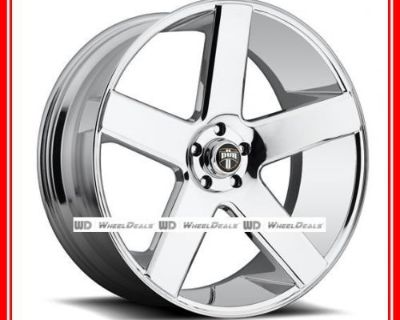 """24"""" Dub Baller S115 Wheels & Tires Package Fits Ford Gmc Dodge Chrysler Chevy"""