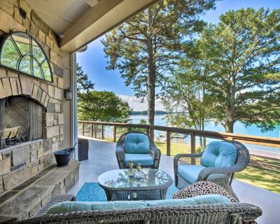 NEW! Gainesville Lake Getaway with 2-Story Dock! - Gainesville