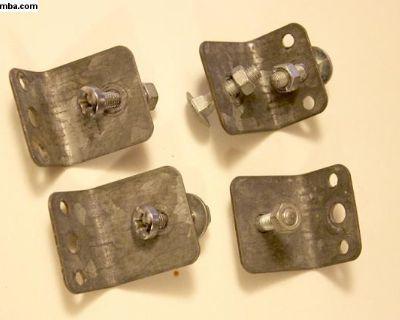 Original Westfalia Brackets and bolts