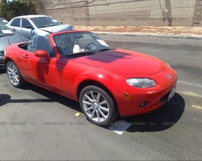 Salvage Red 2006 Mazda Mx-5 Miata