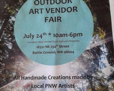 Art fair in battle ground  WA