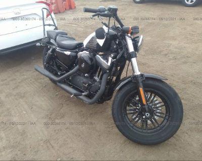 Salvage Black 2017 Harley-davidson Xl1200
