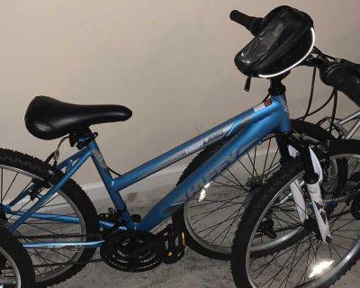 Adult mountain bikes 24 -26 inch wheel size