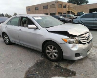 Salvage Silver 2011 Toyota Camry