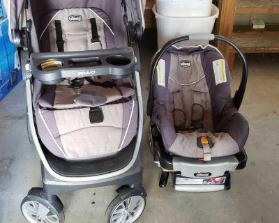 Chicco Bravo Stroller & Car Seat