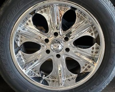REDUCED Rims and Tires