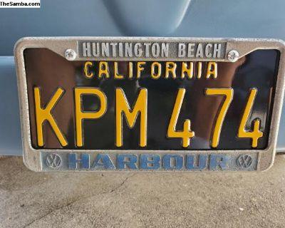 [WTB] Huntington Beach Harbour license plate frame