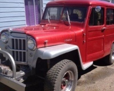 1956 Willys Jeep Estate Station Wagon