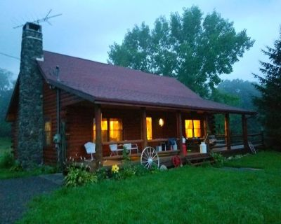 Log Home in the Catskills Mts. Great Family Getaway. Beautiful, quiet setting - Town of Conesville