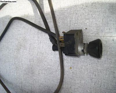 67 ghia wiper switch L-b6