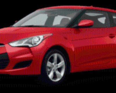 2013 Hyundai Veloster Base with Black Interior Automatic