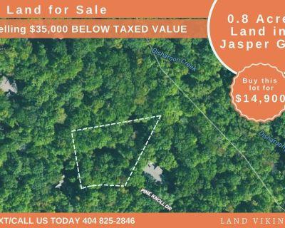 0.81 Acres for Sale in Dawsonville, GA
