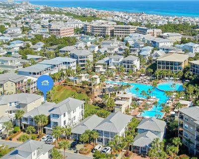 "Luxury 30A Vacation Rental House on Lagoon Pool + FREE Bikes ""Emerald Escape"" - Seacrest Beach"