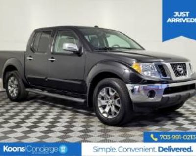 2019 Nissan Frontier SL Crew Cab 4WD Automatic