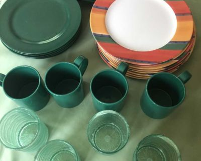 Non-breakable patio dishes