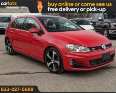 2015 Volkswagen Golf GTI SE 4-door DSG
