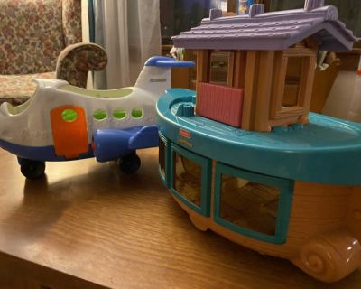 Little People Plane and Noah s Ark