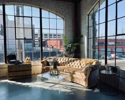 Downtown View Loft With High Ceiling and Large Panoramic Windows, Los Angeles, CA