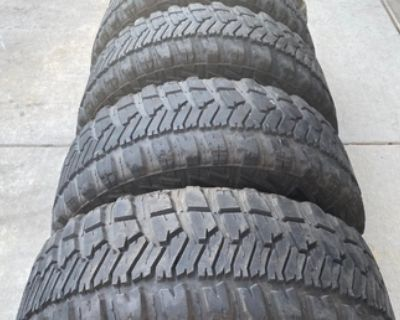 35x12.50r15 Tires-6 Total