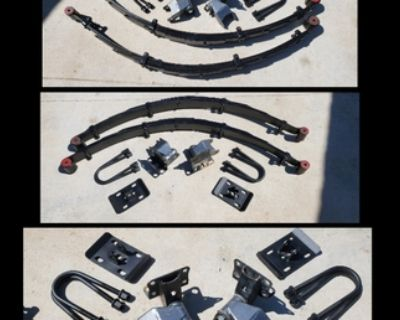 F31 Deavers, Hangers, Extended Shackles, and Spring Plates