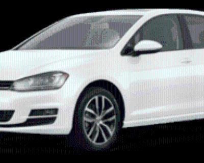 2017 Volkswagen Golf Wolfsburg Edition 4-Door Hatchback FWD Auto