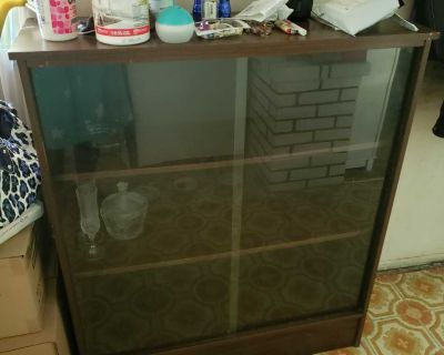 China Cupboard with glass