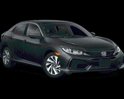 New 2019 Honda Civic LX FWD