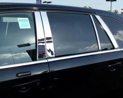 2007-2012 Ford Edge 8 Piece Stainless Steel Chrome Door Pillar Post Moldings