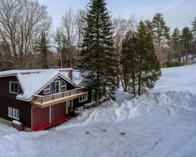 Cozy Ski-in/ski-out Chalet w/ a gas Fireplace & Full Kitchen - Dogs Welcome! - West Bridgton
