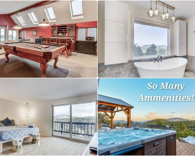 The Spacious Mountain Escape! W/ Hot Tub & Pool Table - Evergreen West Central