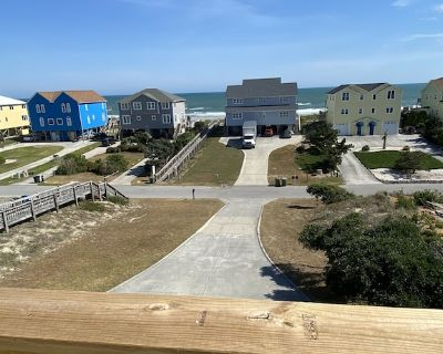Beautiful views from this 2nd row home with 2021 updates - Emerald Isle