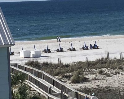 Freshly Painted Inside & Out 3 BR/2 BA Townhouse on Beach with Ocean View - Gulf Shores