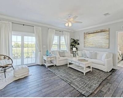 Blue Mangrove - Coastal-Chic Water Front Home with New Pool - Breezeswept Beach Estates