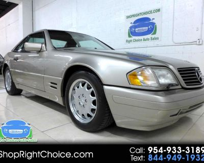Used 1998 Mercedes-Benz SL-Class SL500 Roadster