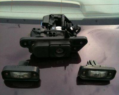 Mercedes S-class W220 Rear Trank Lid Lock Button Mechanism With Key Blade