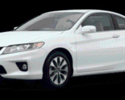 2014 Honda Accord EX-L Coupe I4 CVT
