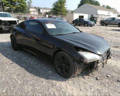 Salvage Black 2011 Hyundai Genesis Coupe