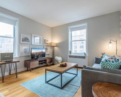 Bright 1BR w/ Gym near Chelsea Mkt + Meatpacking by Blueground - Chelsea