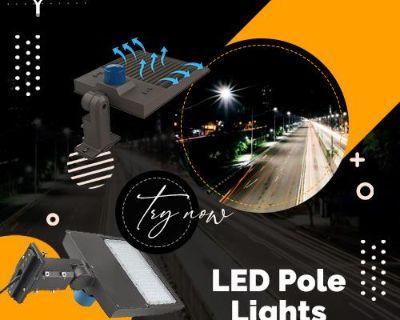 Buy Now LED Pole Lights For Parking Lot Lights