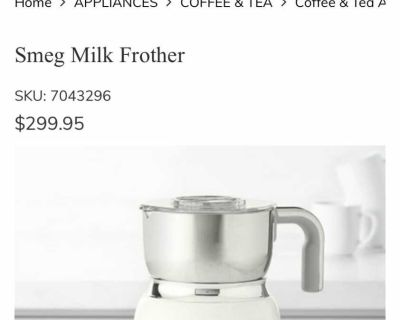 Smeg Frother