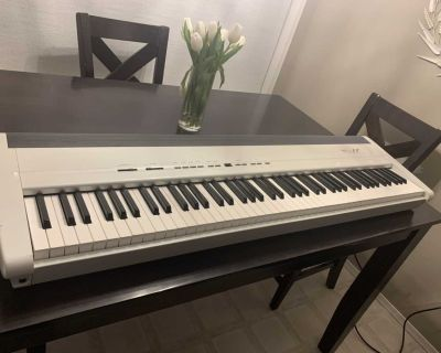 Roland FP-8 digital piano, full keyboard with weighted keys.