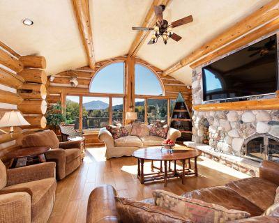 Custom Log Home w/ Mt. Sopris Views, Huge Deck, Fireplace 15 min to GWS & C'dale - Glenwood Springs