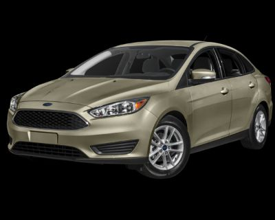 Pre-Owned 2017 Ford Focus S FWD 4D Sedan