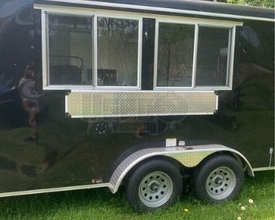 2021 - 8' x 16' Health Department Approved Food Catering Concession Trailer
