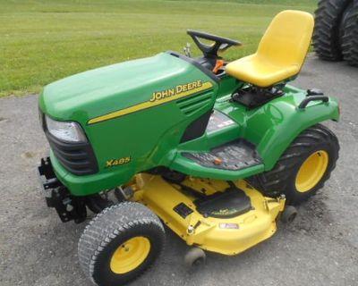 2002 JOHN DEERE X485 Tractors